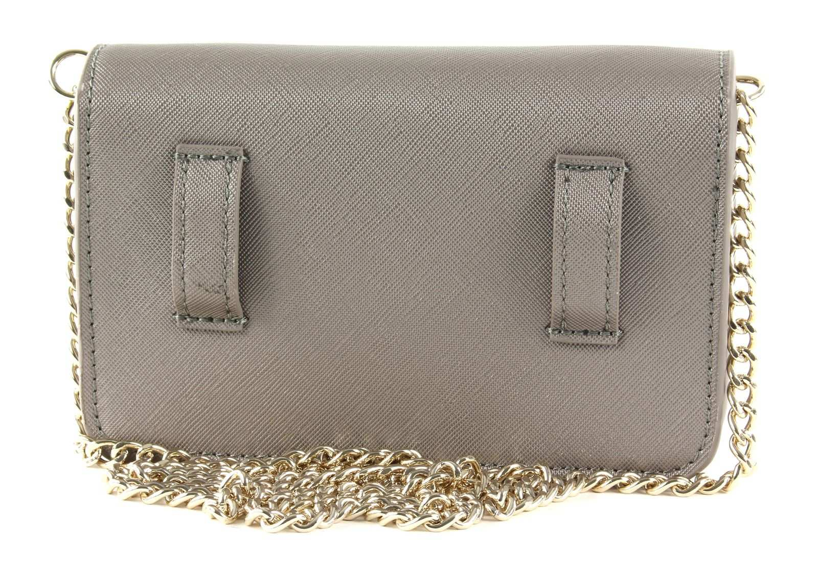Tommy Hilfiger šedá ledvinka Honey Belt Bag Metallic Grey Metallic