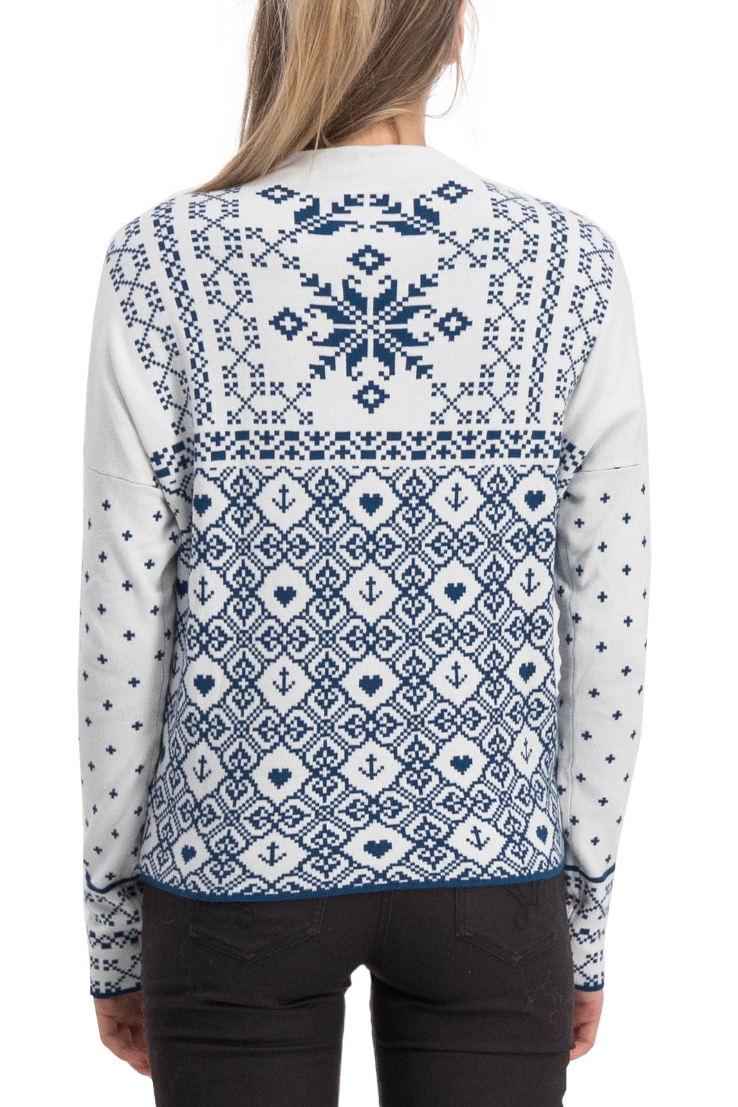 Blutsgeschwister svetr Cosy and Cool Pully Norwegian Snowflake