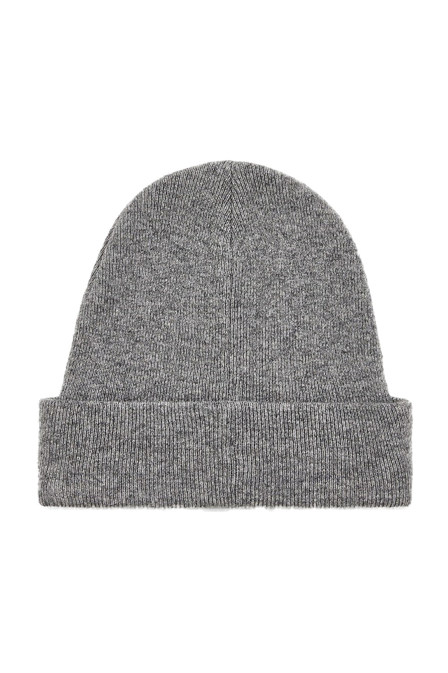 Calvin Klein šedá unisex čepice J Basic Knitted Beanie Grey Heather