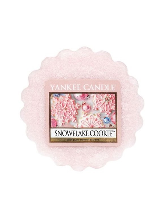 Yankee Candle vonný vosk do aroma lampy Snowflake Cookie