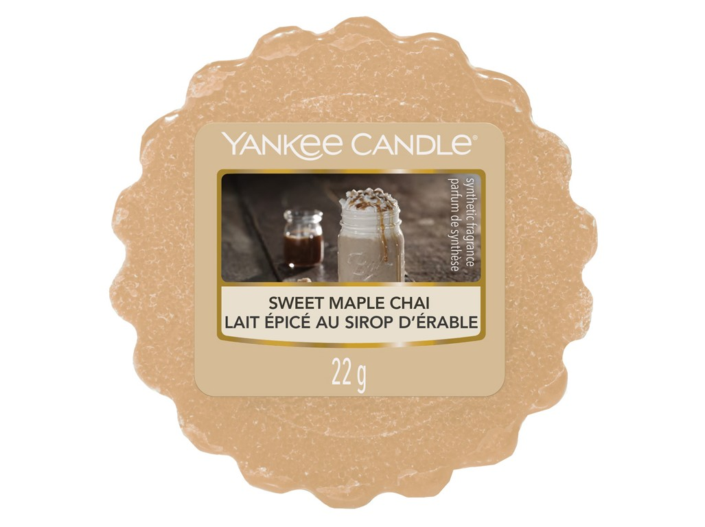 Yankee Candle vonný vosk do aroma lampy Sweet Maple Chai