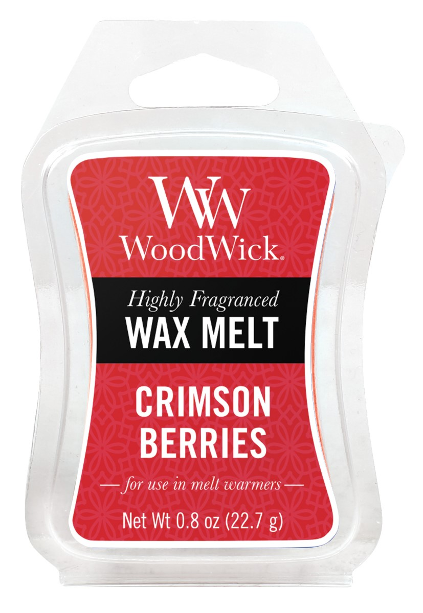 WoodWick vonný vosk do aroma lampy Crimson Berries