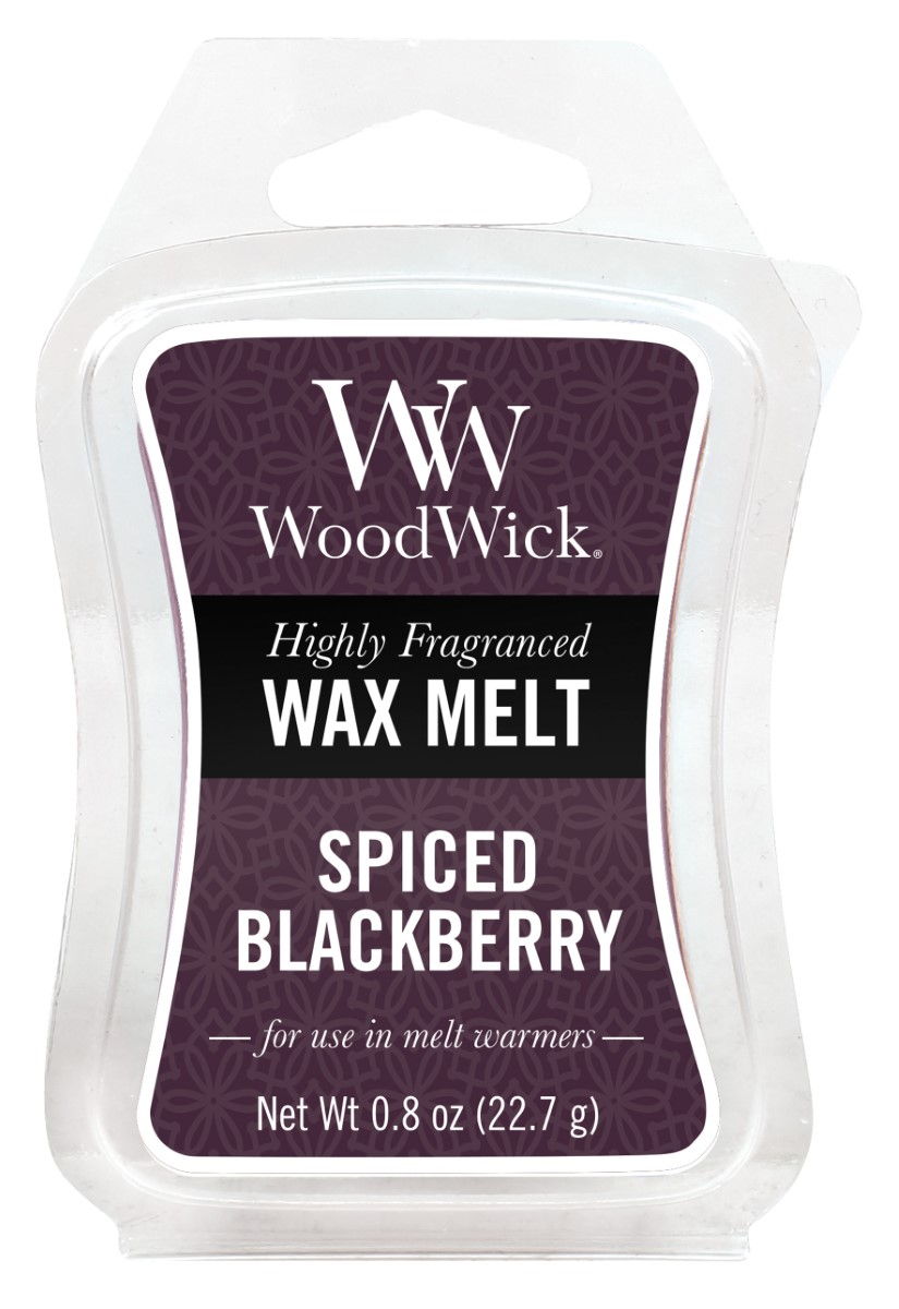 WoodWick vonný vosk do aroma lampy Spiced Blackberry