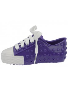 Boty Mini Melissa Polibolha II Purple-White