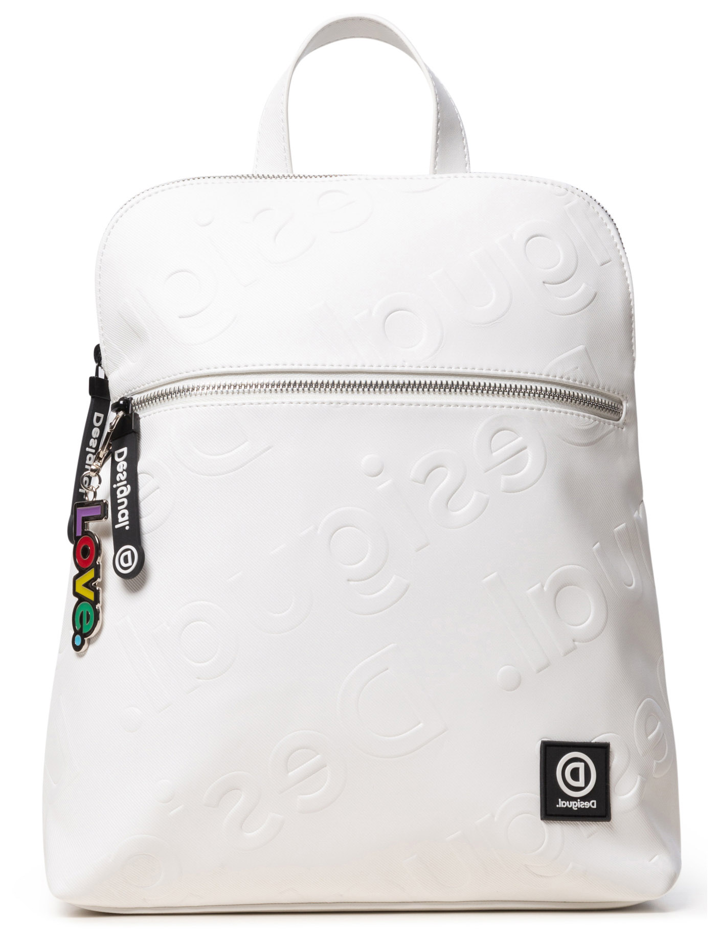 Desigual bílý batoh Back New Colorama Nanaimo