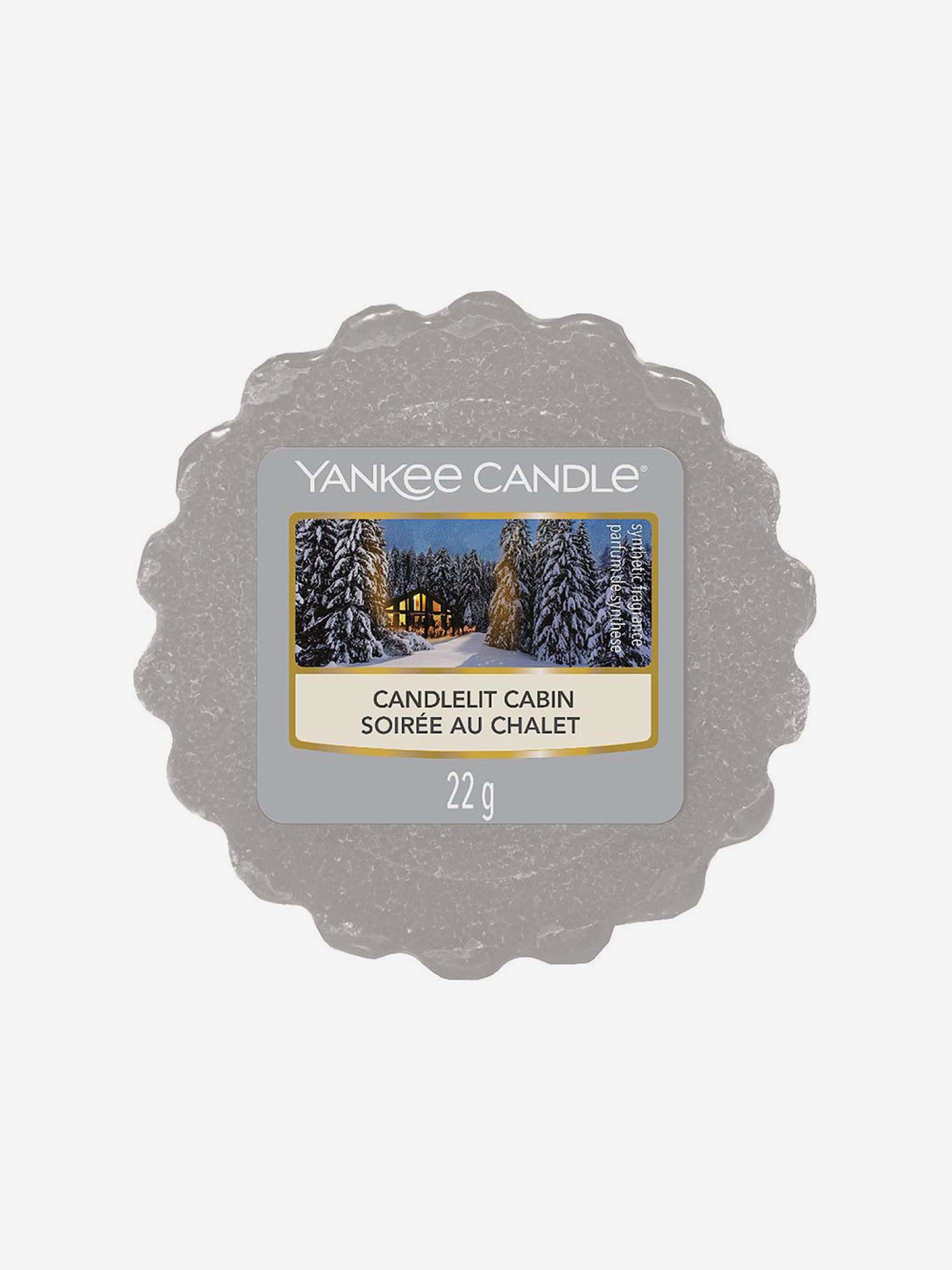 Yankee Candle vonný vosk do aroma lampy Candlelit Cabin