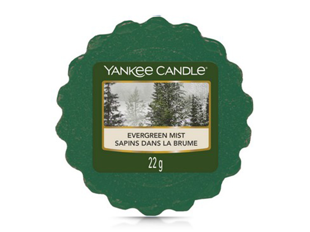 Yankee Candle vonný vosk do aroma lampy Evergreen Mist