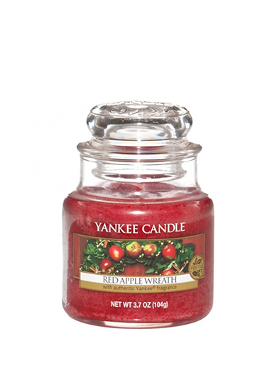 Yankee Candle vonná svíčka Red Apple Wreath Classic malý