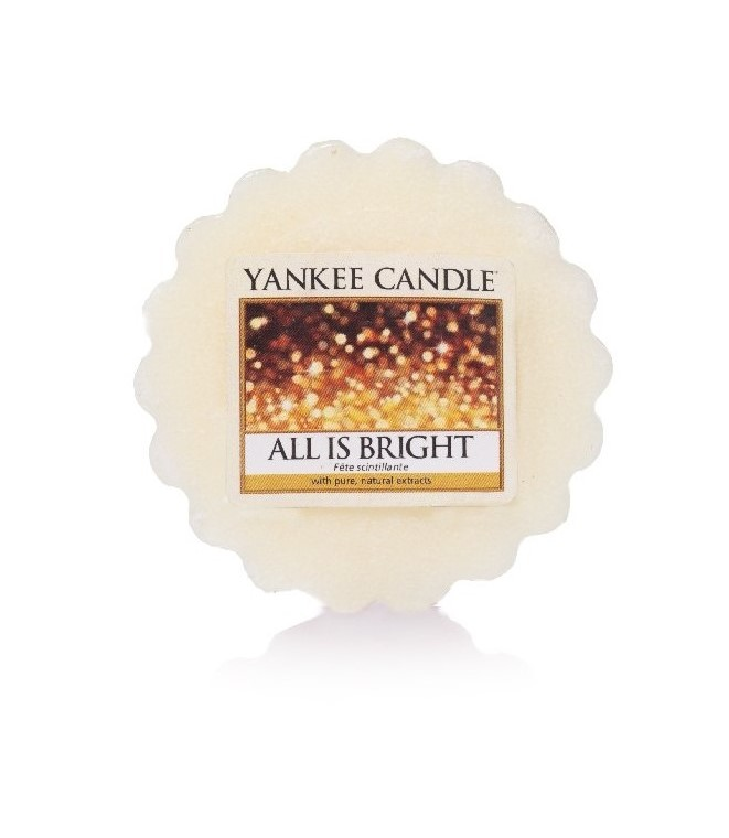 Yankee Candle vonný vosk do aroma lampy All is Bright