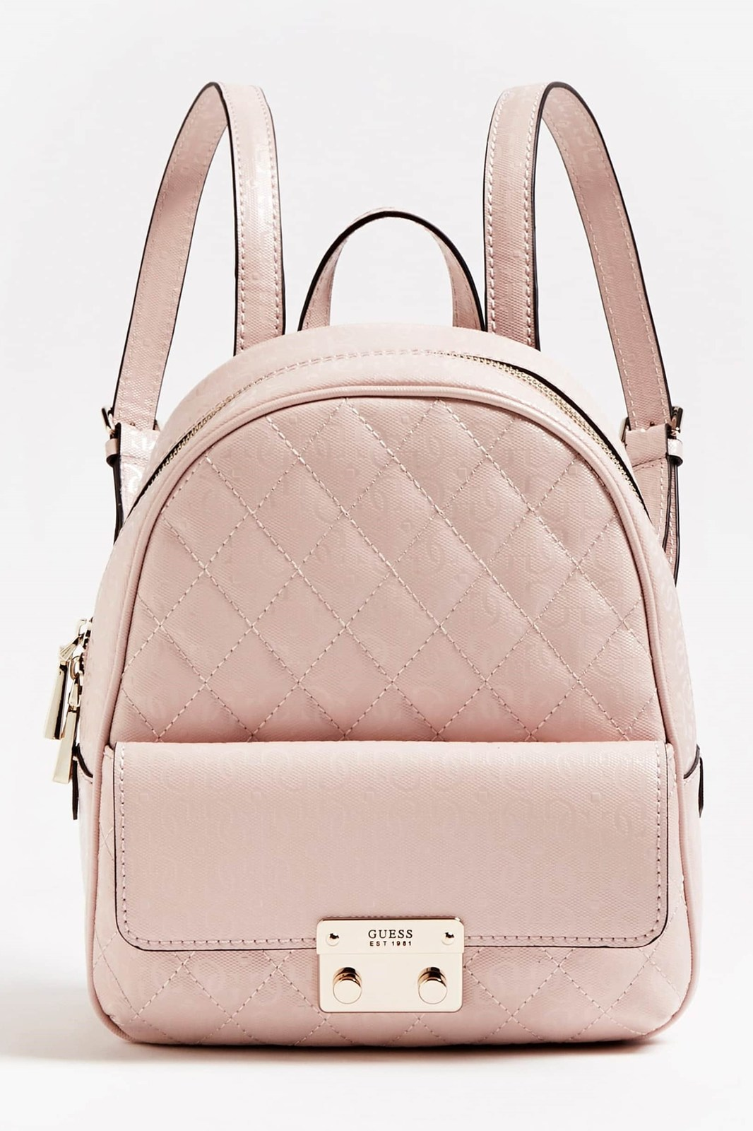 Guess pudrový batoh Tiggy Quilted
