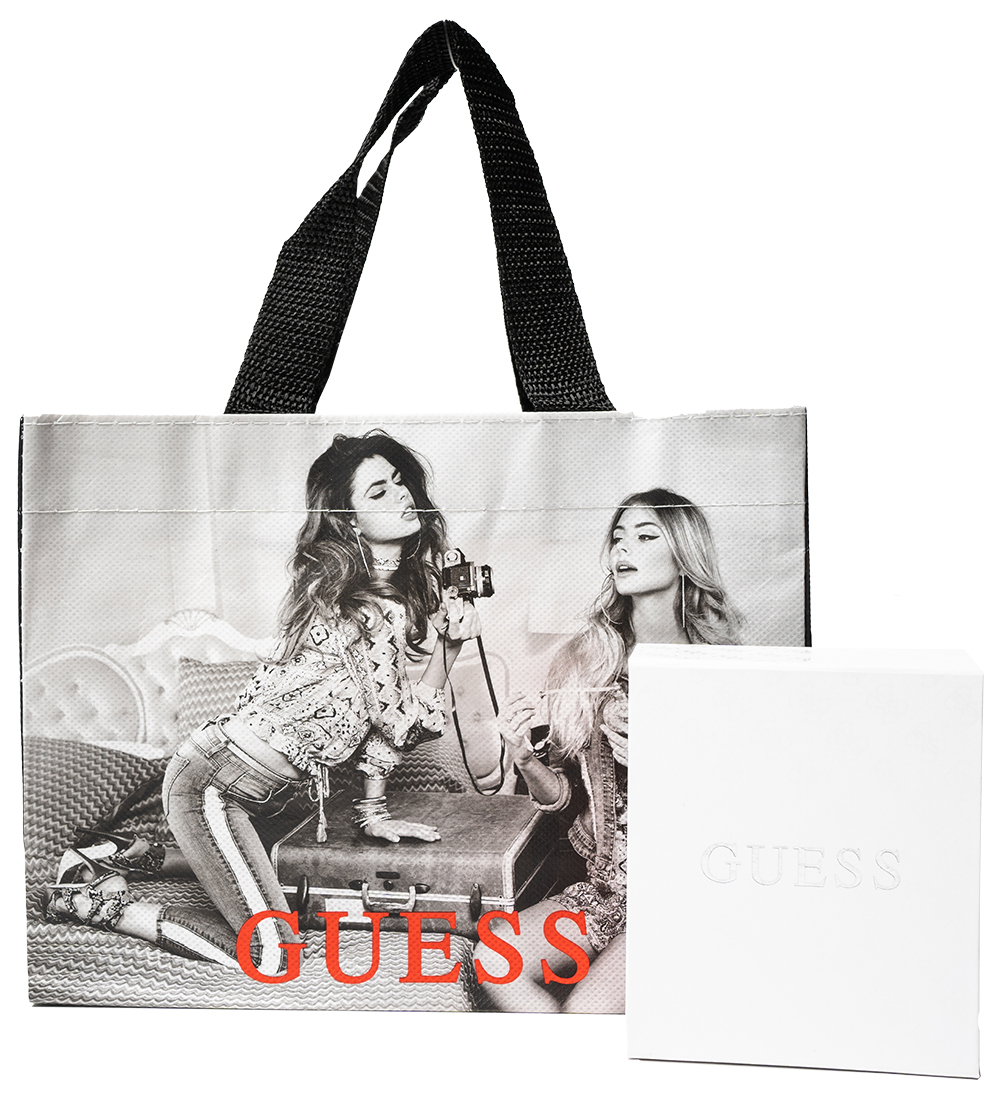 Guess rose gold náušnice Uptown chic