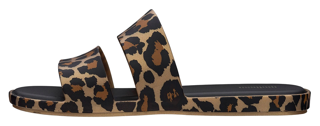 Melissa leopardí pantofle Color Pop Gold/Black