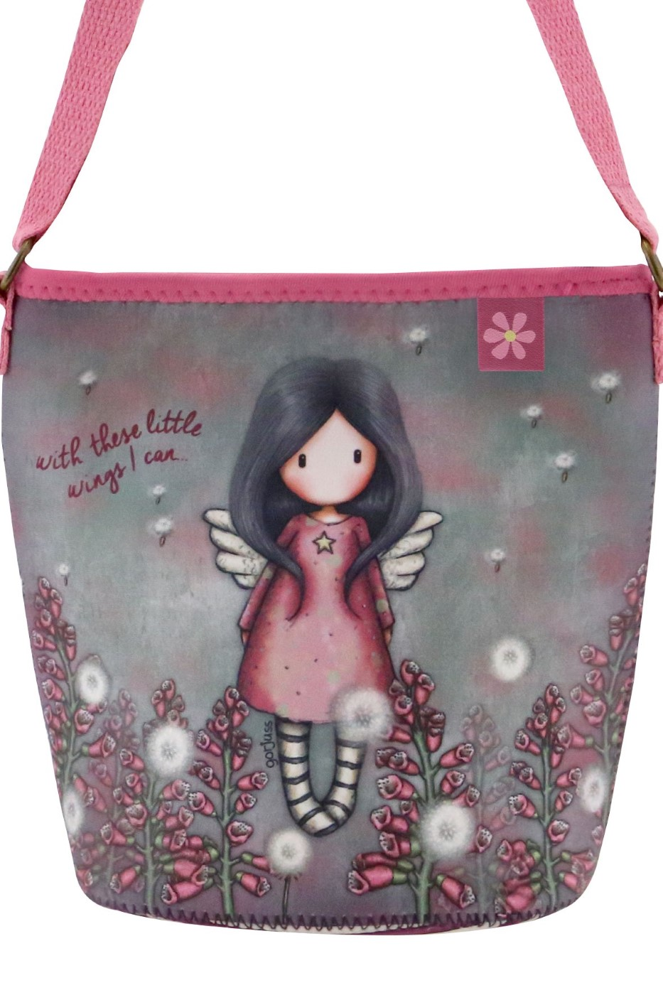 Santoro malá neoprenová crossbody Gorjuss Little Wings
