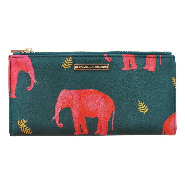 "Disaster petrolejová peněženka Heritage and Harlequin ""Elephant"" Wallet"