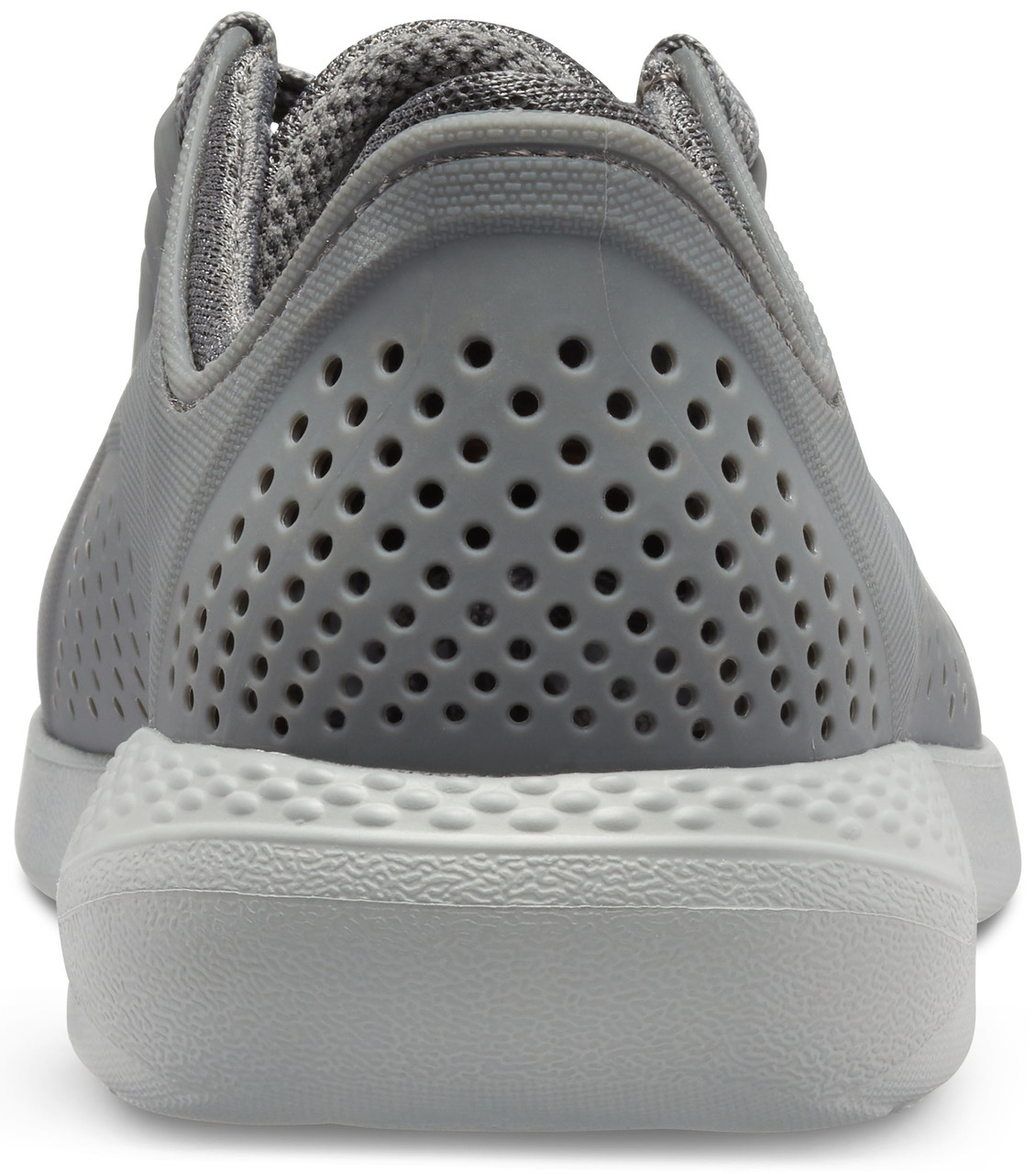 Crocs šedé tenisky LiteRide Pacer Charcoal/Light Grey