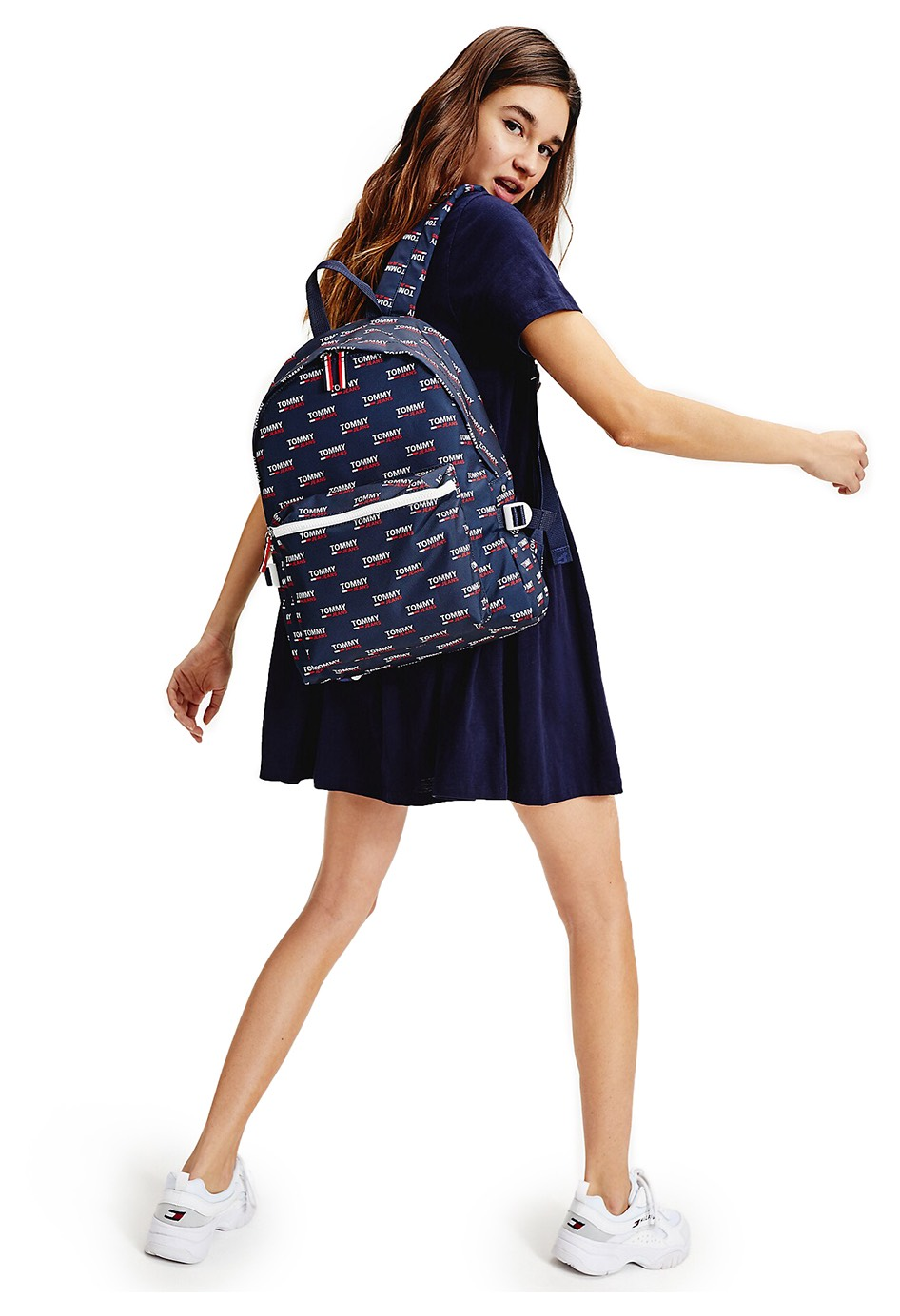 Tommy Hilfiger modrý unisex batoh TJM Cool City Backpack NYL PNT