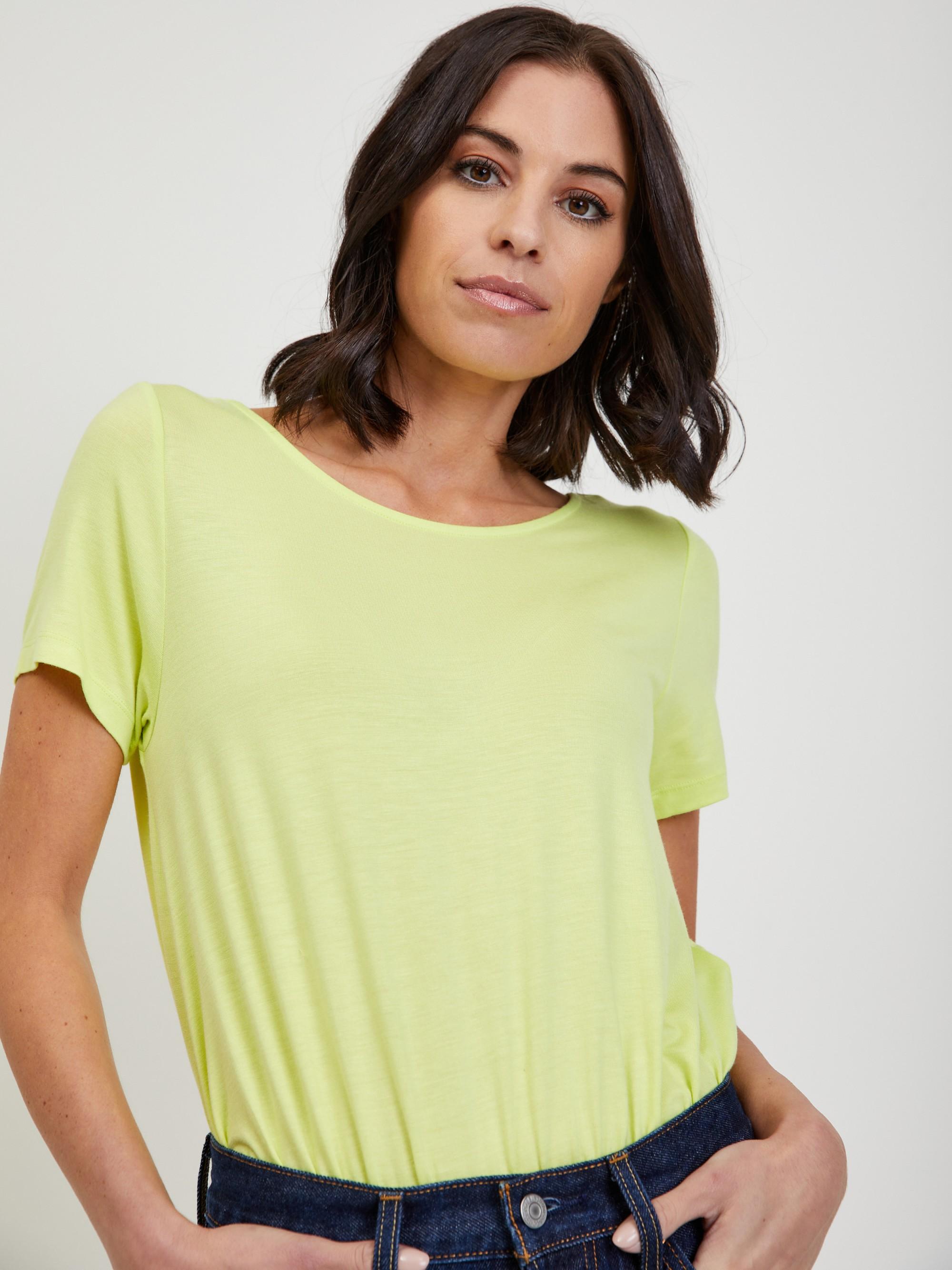 Světle zelené body ONLY Ola
