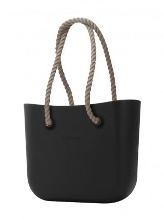 O bag kabelka Nero s dlouhými provazy natural 8dd53881f0c