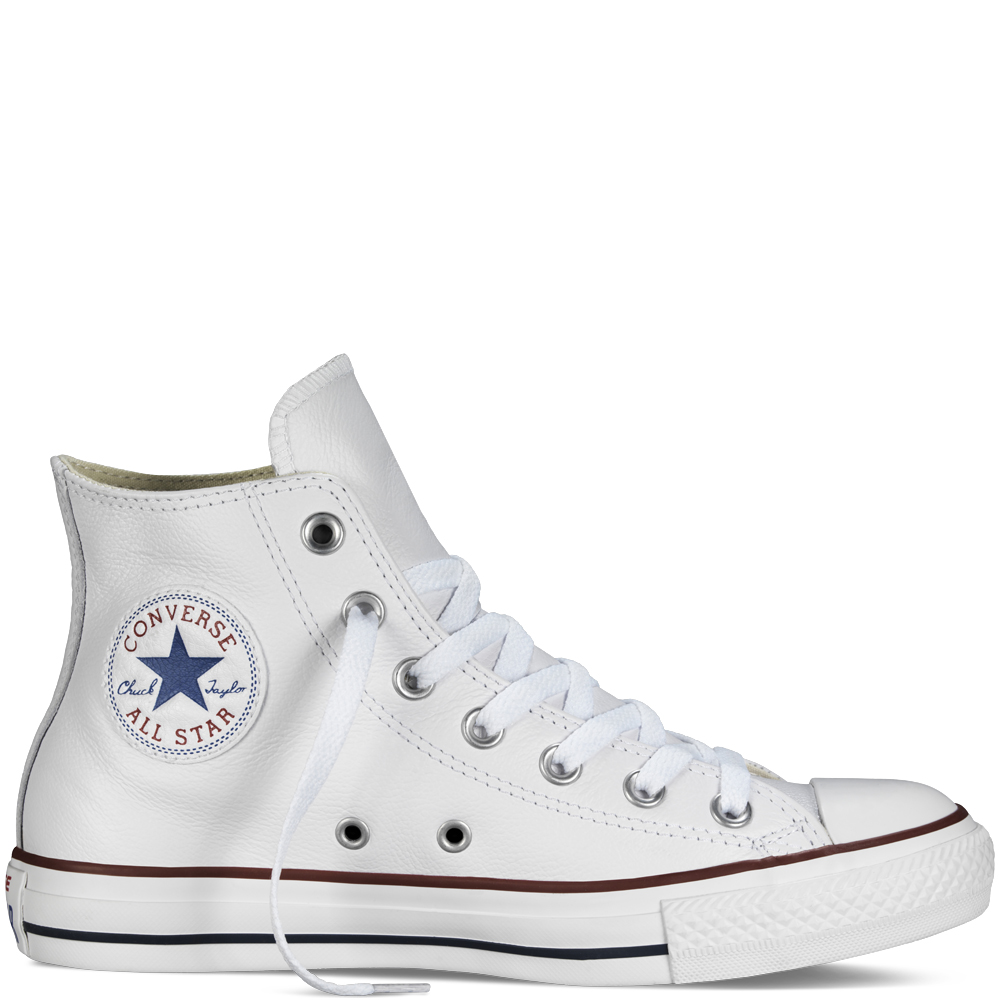 Converse bílé boty Chuck Taylor All Star Leather White