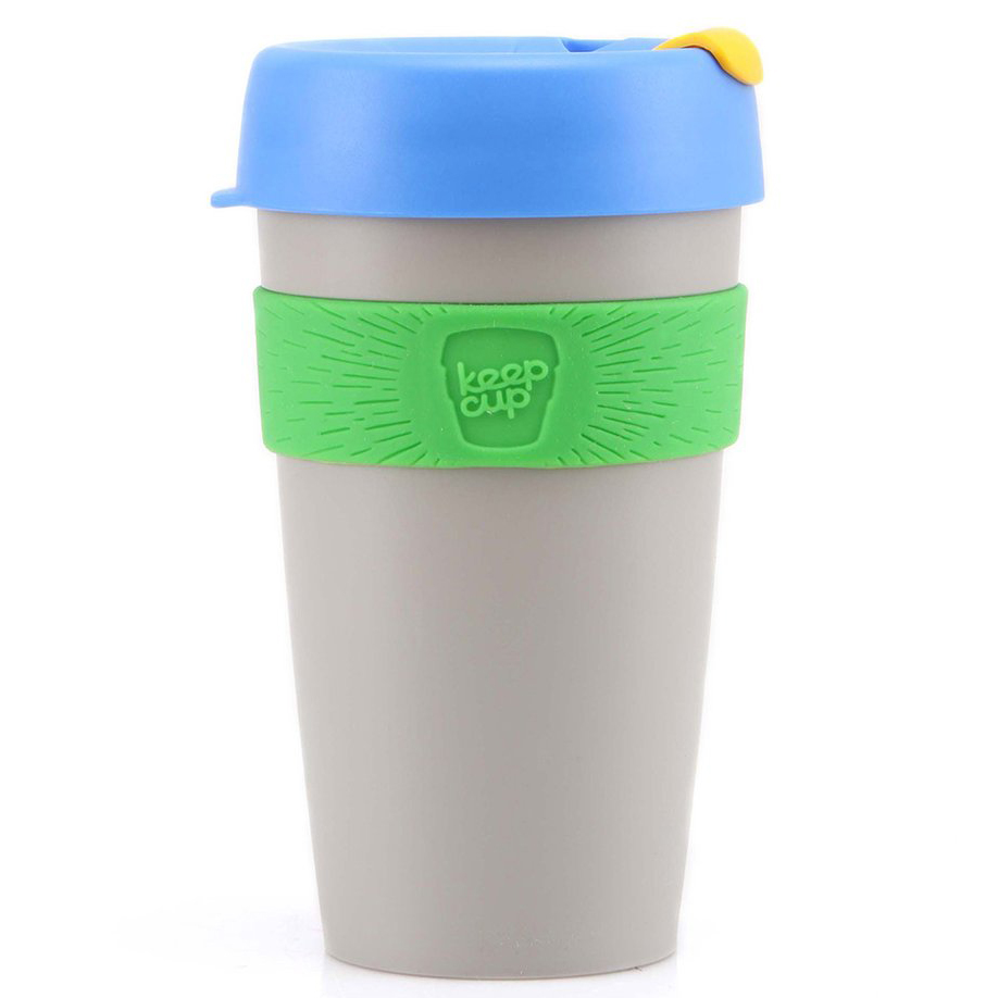 KeepCup šedý hrnek Alchemy St  Germain Large