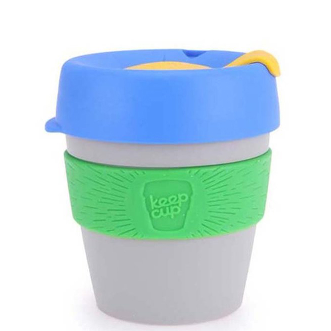 KeepCup šedý hrnek Alchemy St. Germain Small