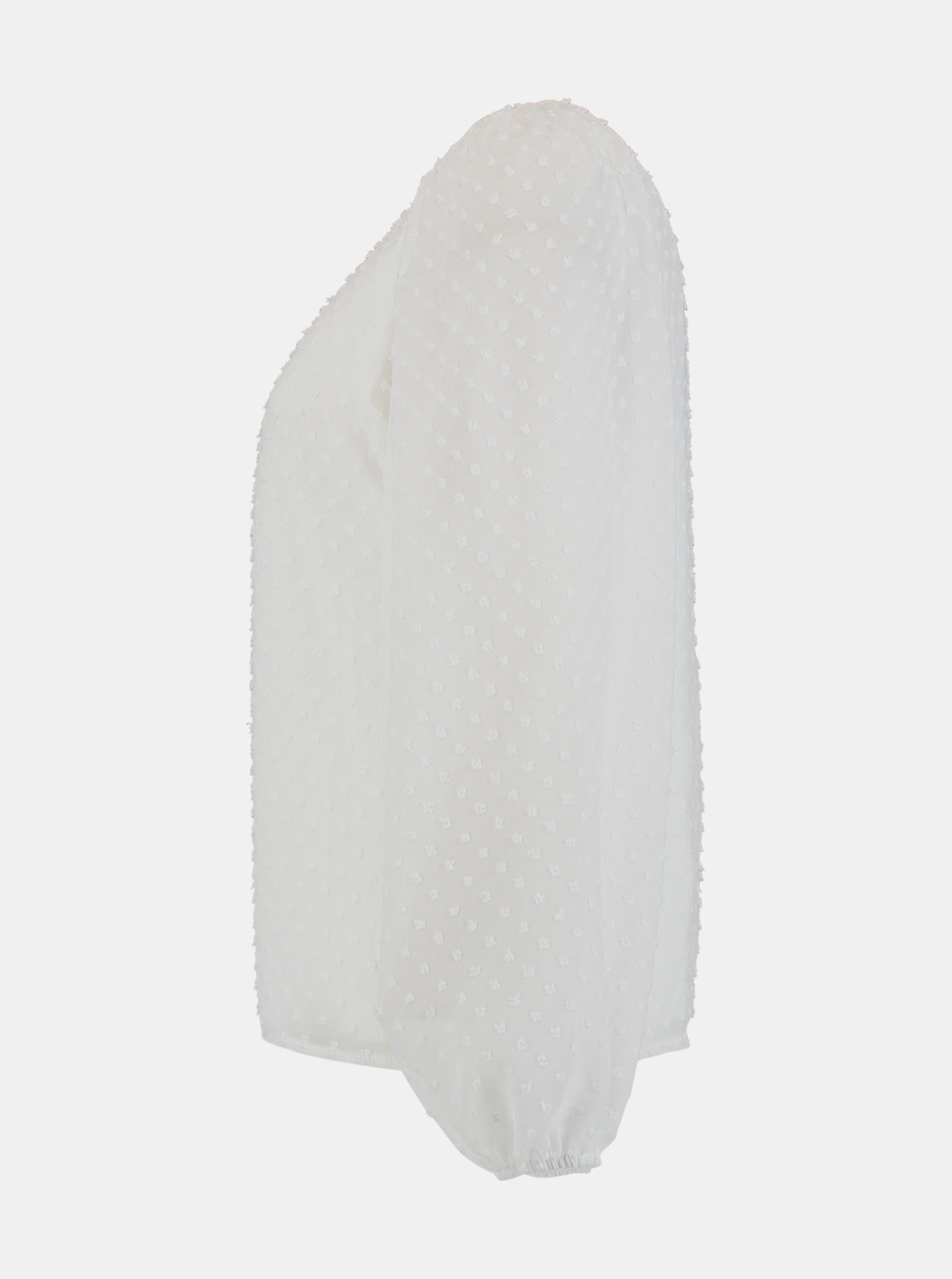 Hailys bílá volná halenka