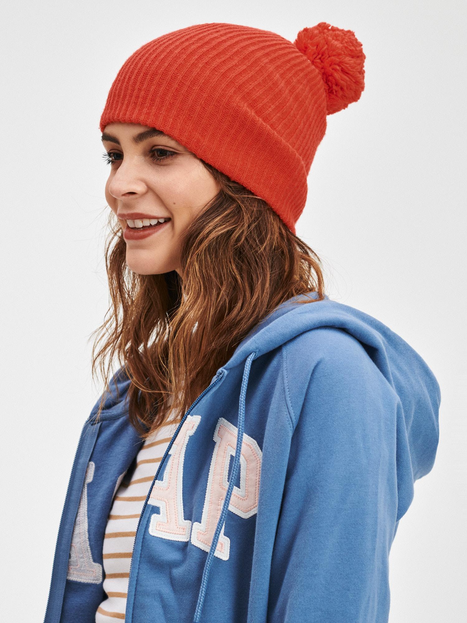 GAP červená dámská čepice - ONESIZE