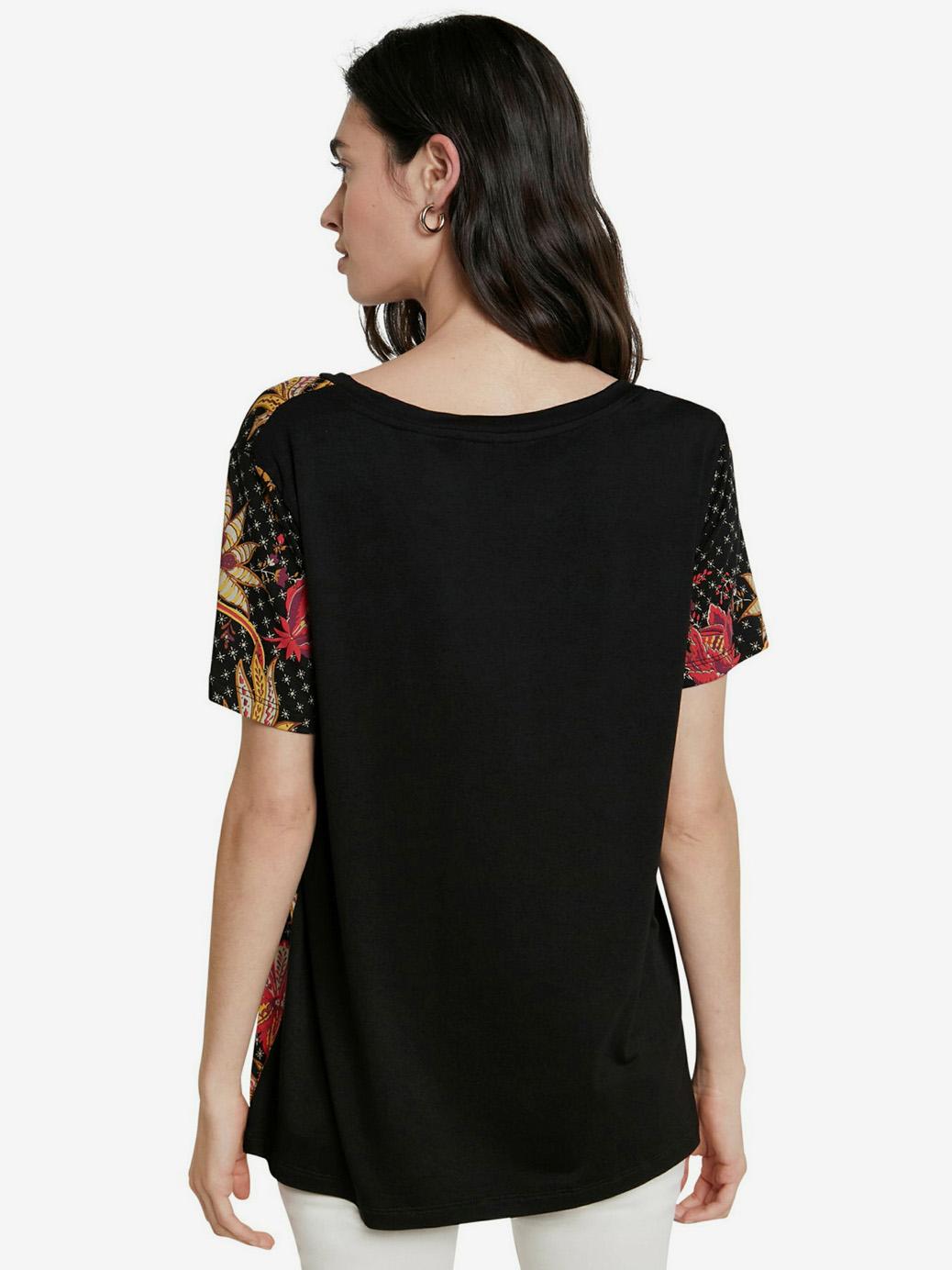 Desigual černé tričko TS Praga