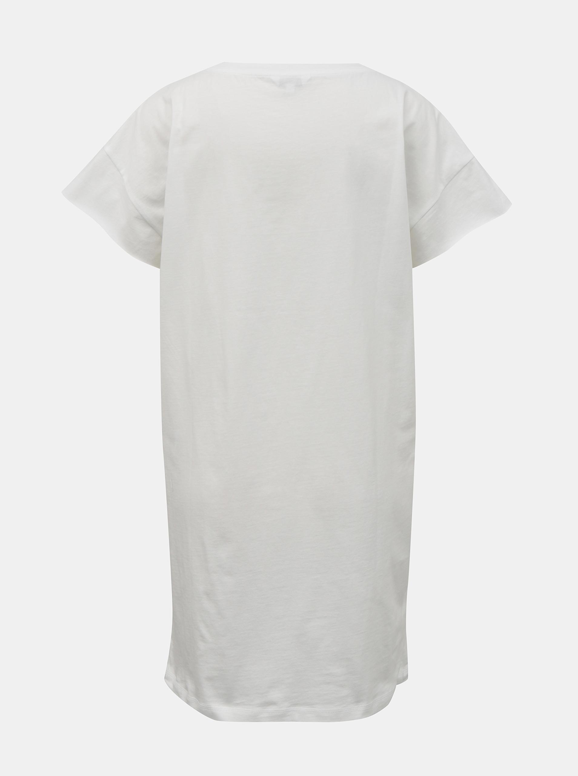 Calvin Klein bílé šaty