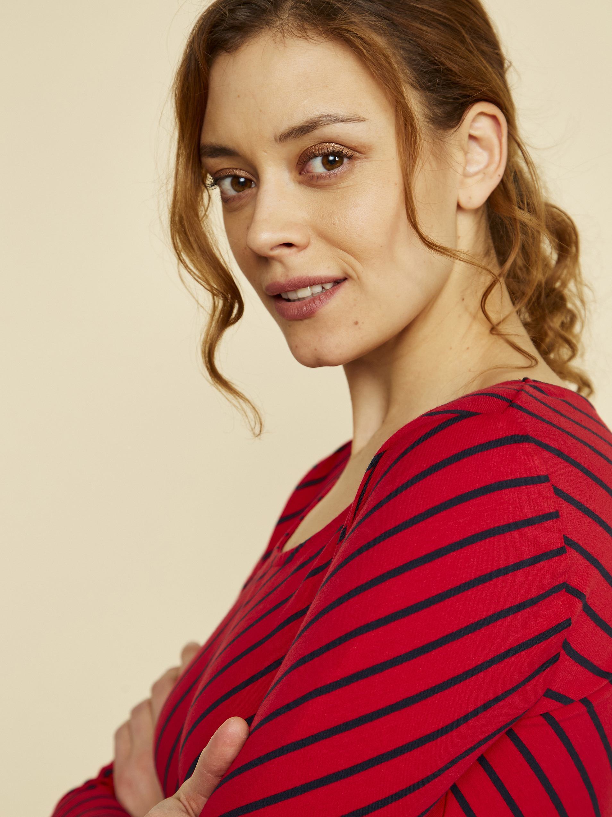 ZOOT červené tričko Karin