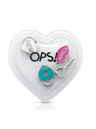 Ops! Objects mini pop ozdoby E 'MY OPS! LOVE Klíč
