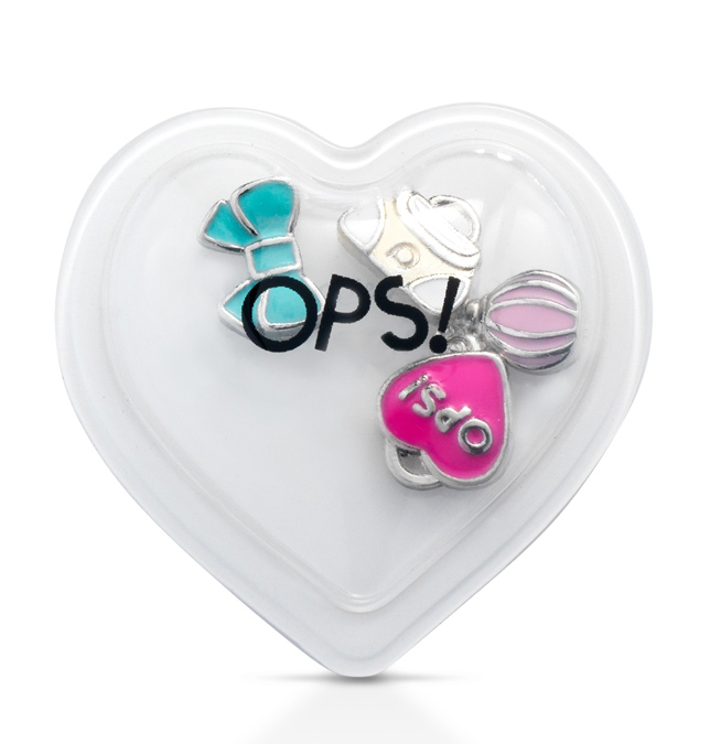 Ops! Objects mini pop ozdoby E 'MY OPS! Fashion and Beauty Kabelka