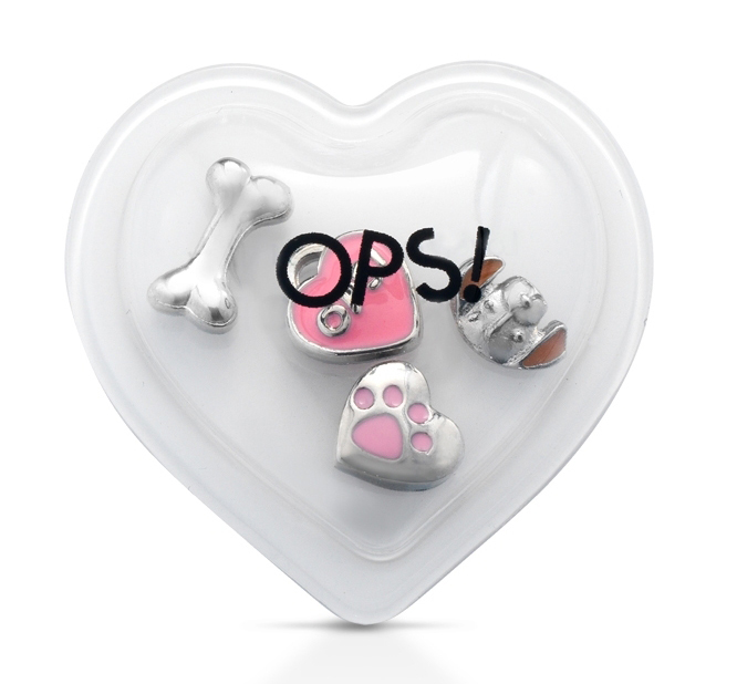 Ops! Objects mini pop ozdoby E 'MY OPS! PETS Pes a Kost