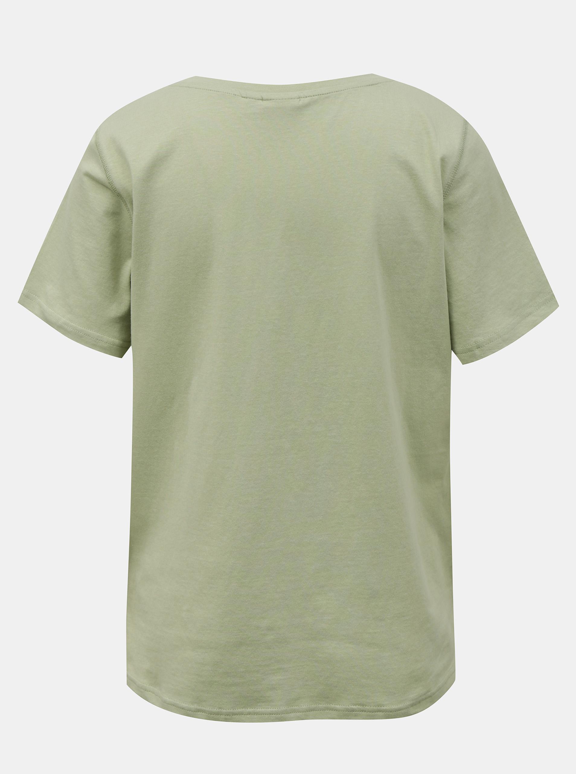 Ichi světle zelené tričko Ihskye