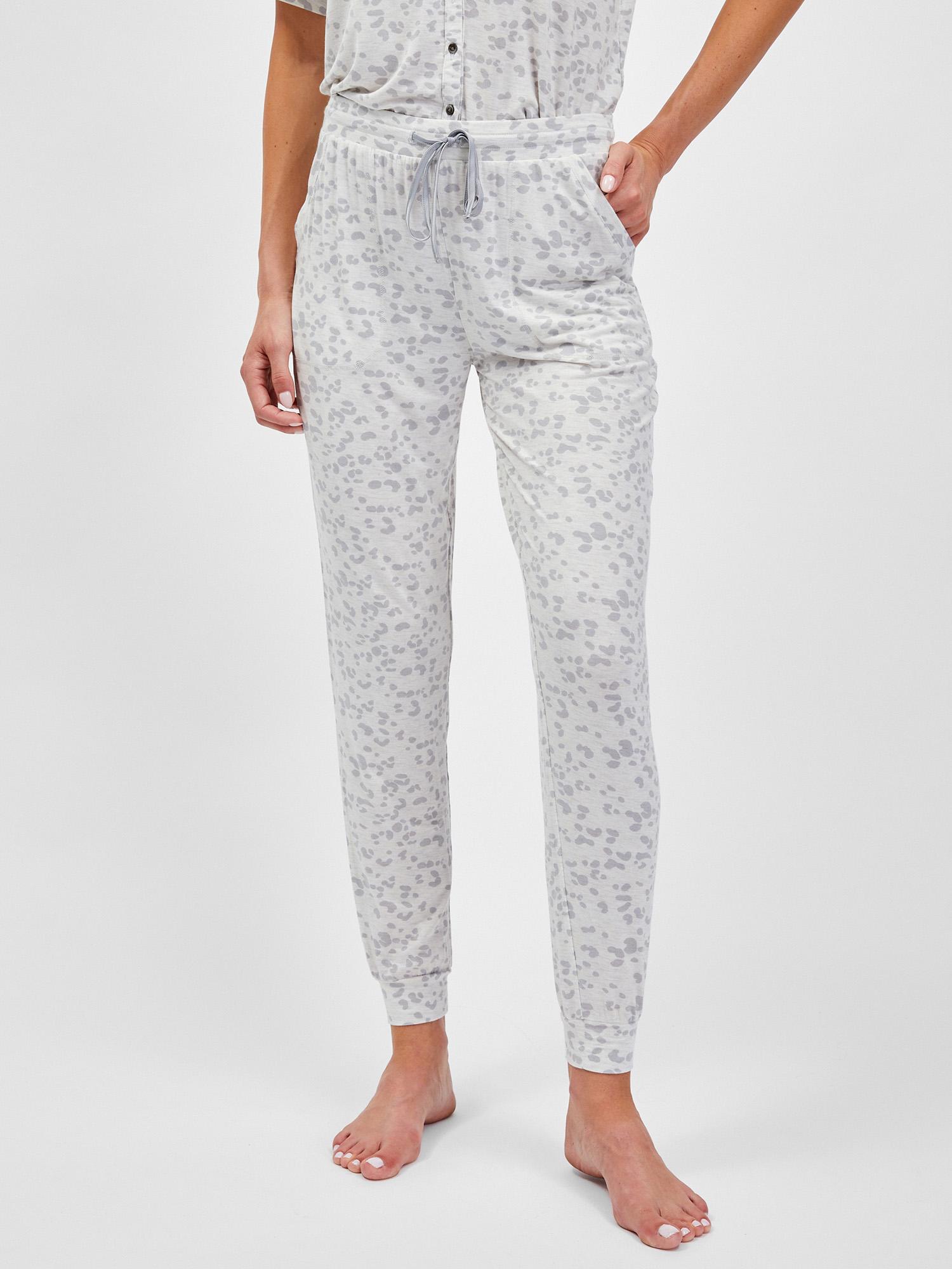 GAP bílé dámské pyžamové kalhoty - XL