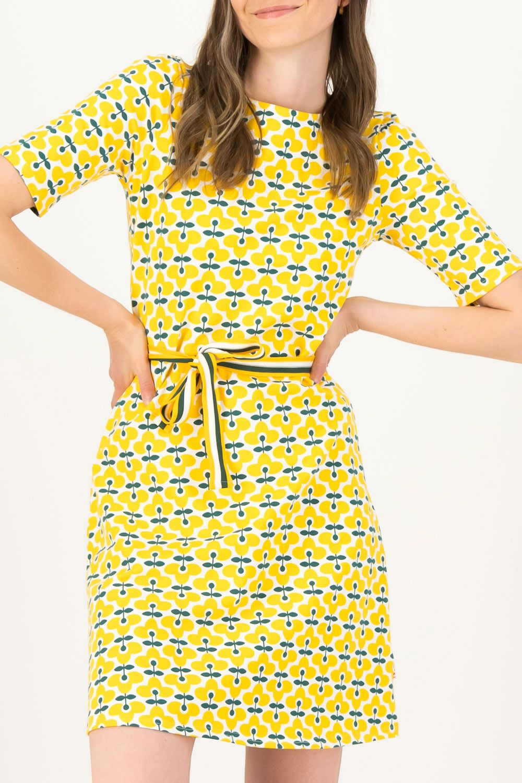 Blutsgeschwister žluté šaty So Frei Real Retro - L