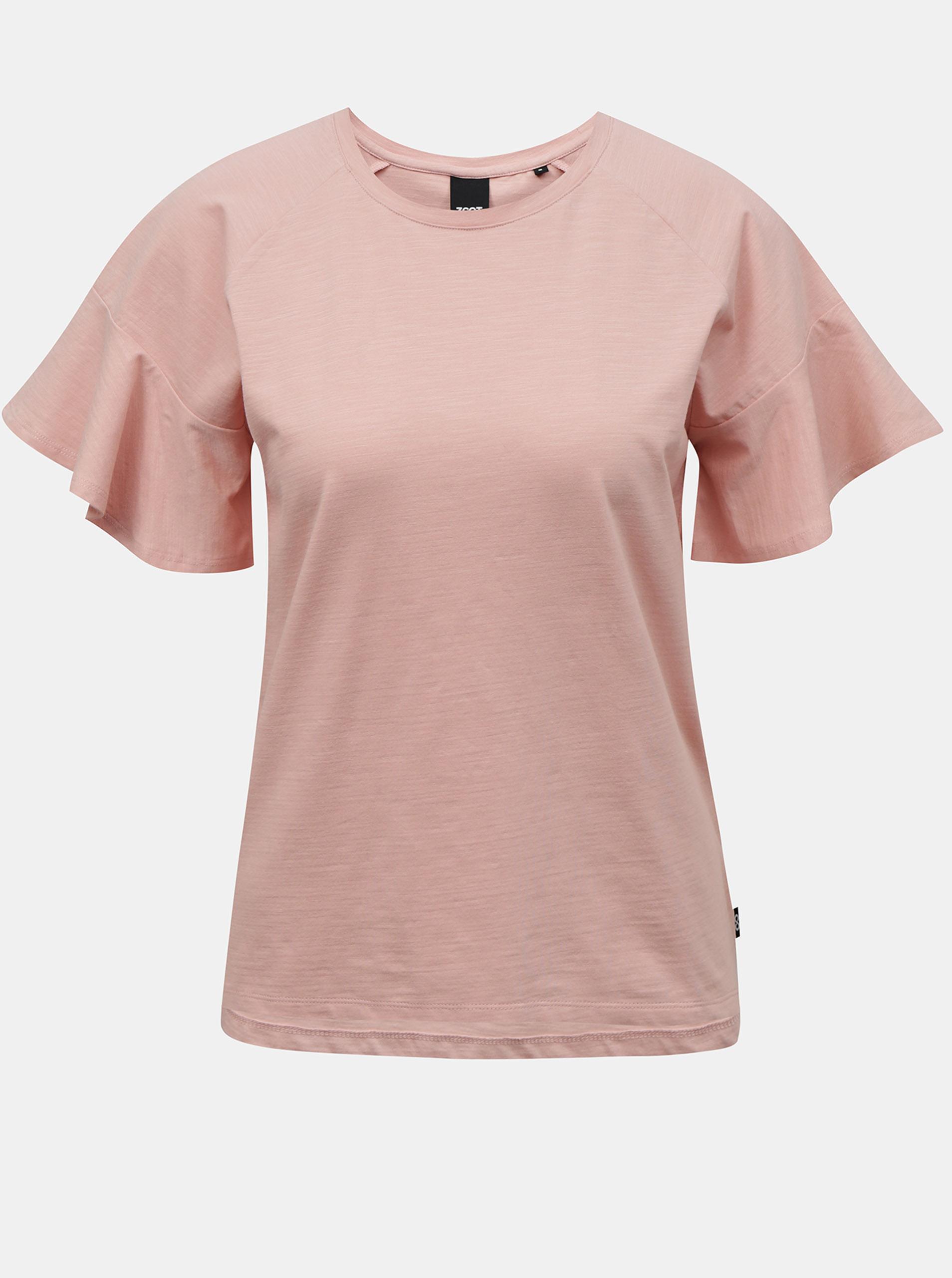 ZOOT světle růžové dámské tričko Aurelia