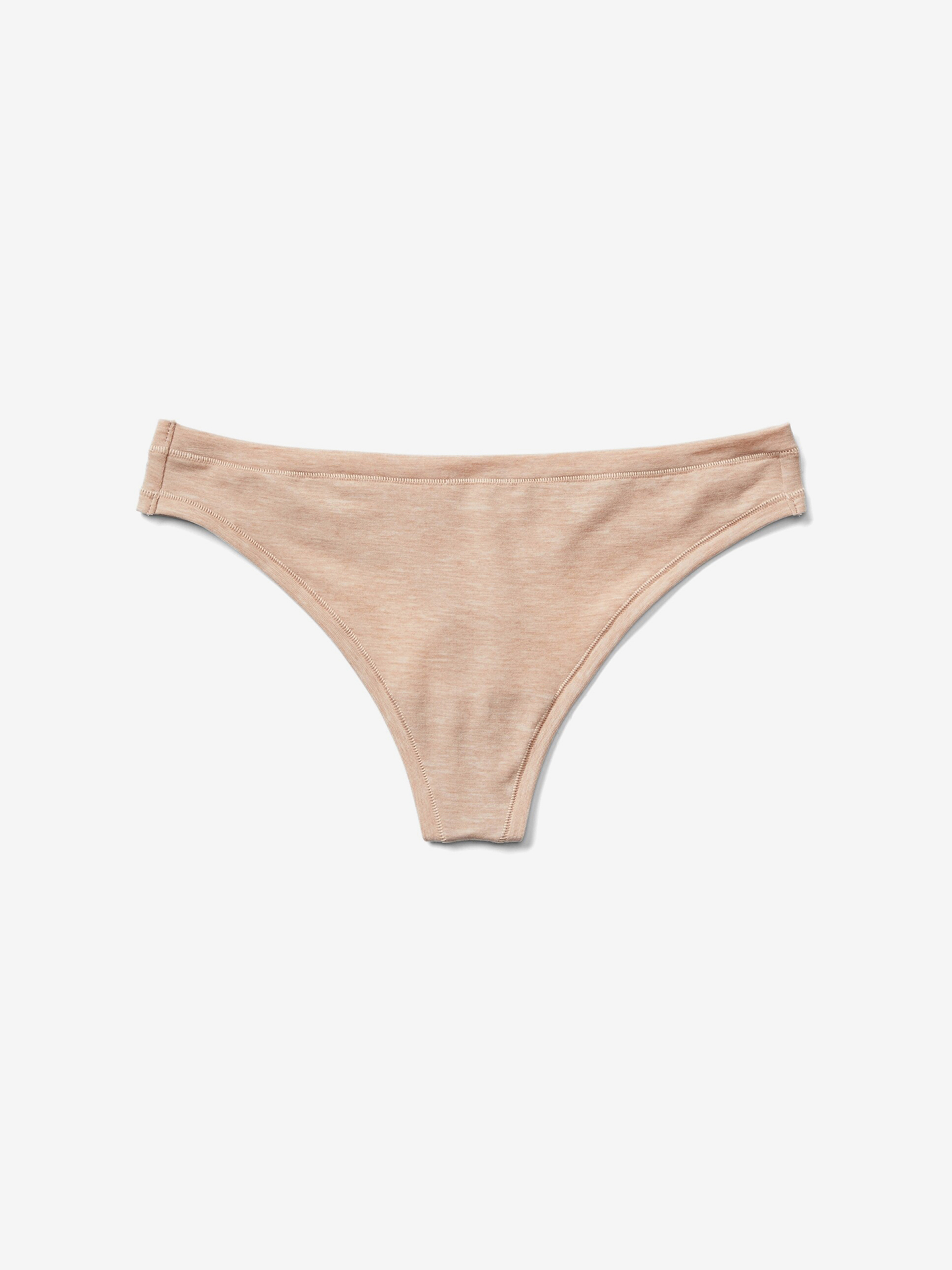 GAP béžové tanga Breathe Thong