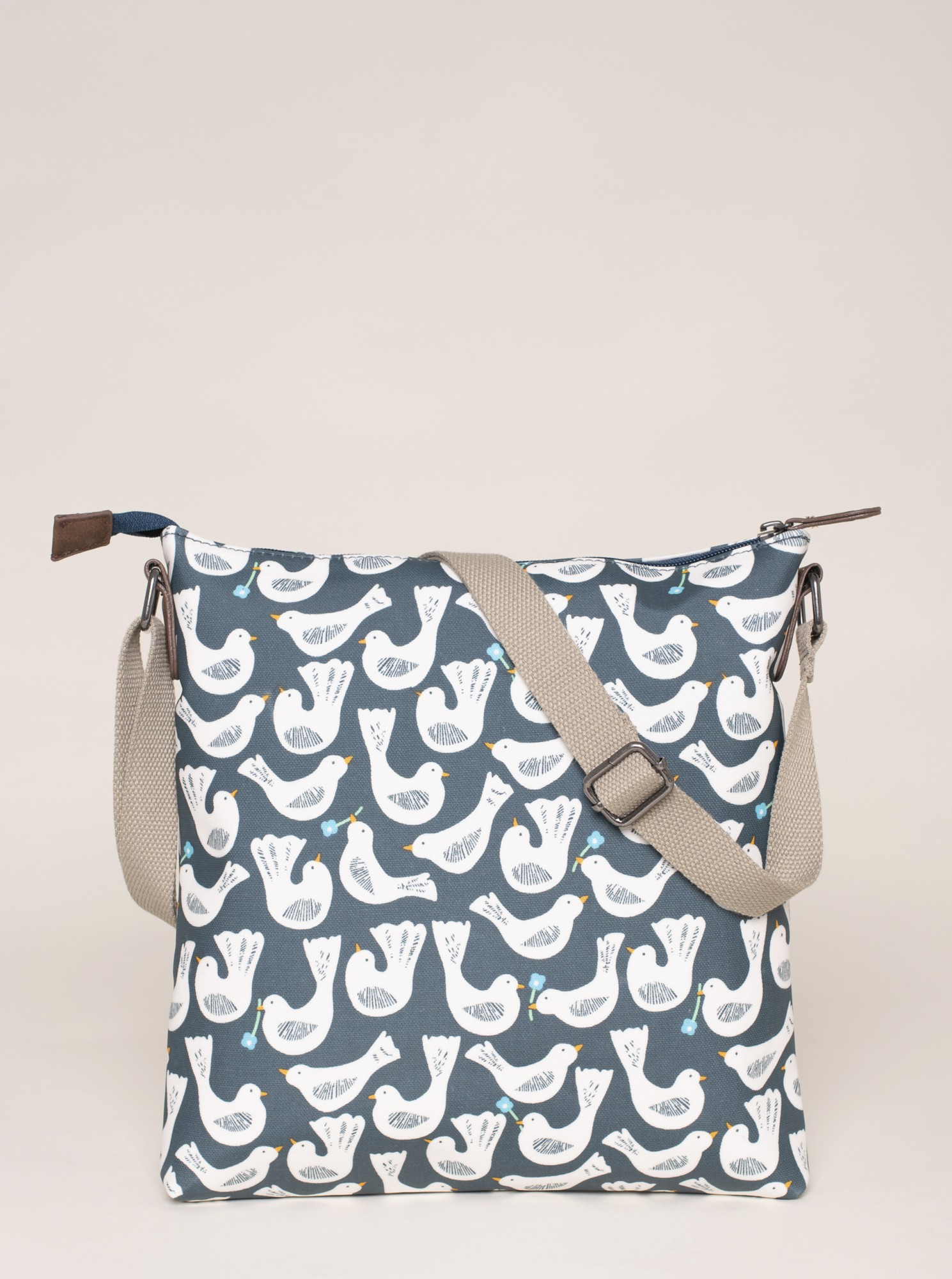 Brakeburn modré kabelka s ptáčky