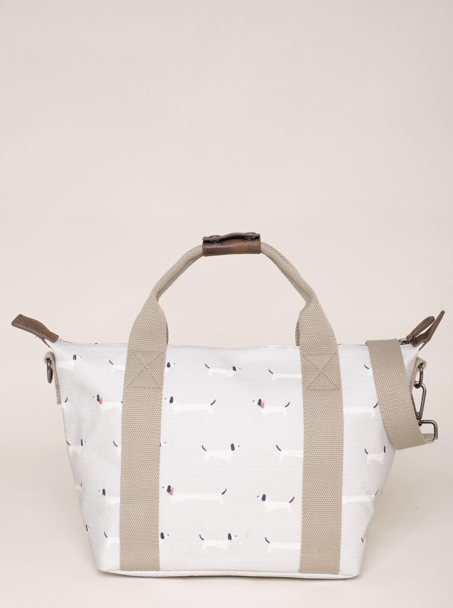 Brakeburn šedo-béžová kabelka