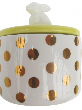 Disaster retro dóza s králíčkem Spotty Bunny Jar
