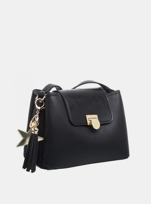 Bessie London černá crossbody kabelka