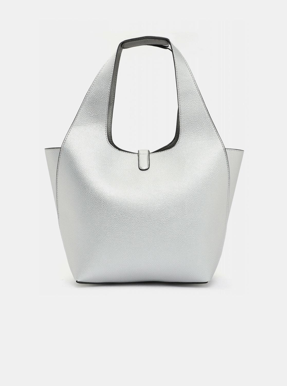 Tamaris stříbrný oboustranný shopper