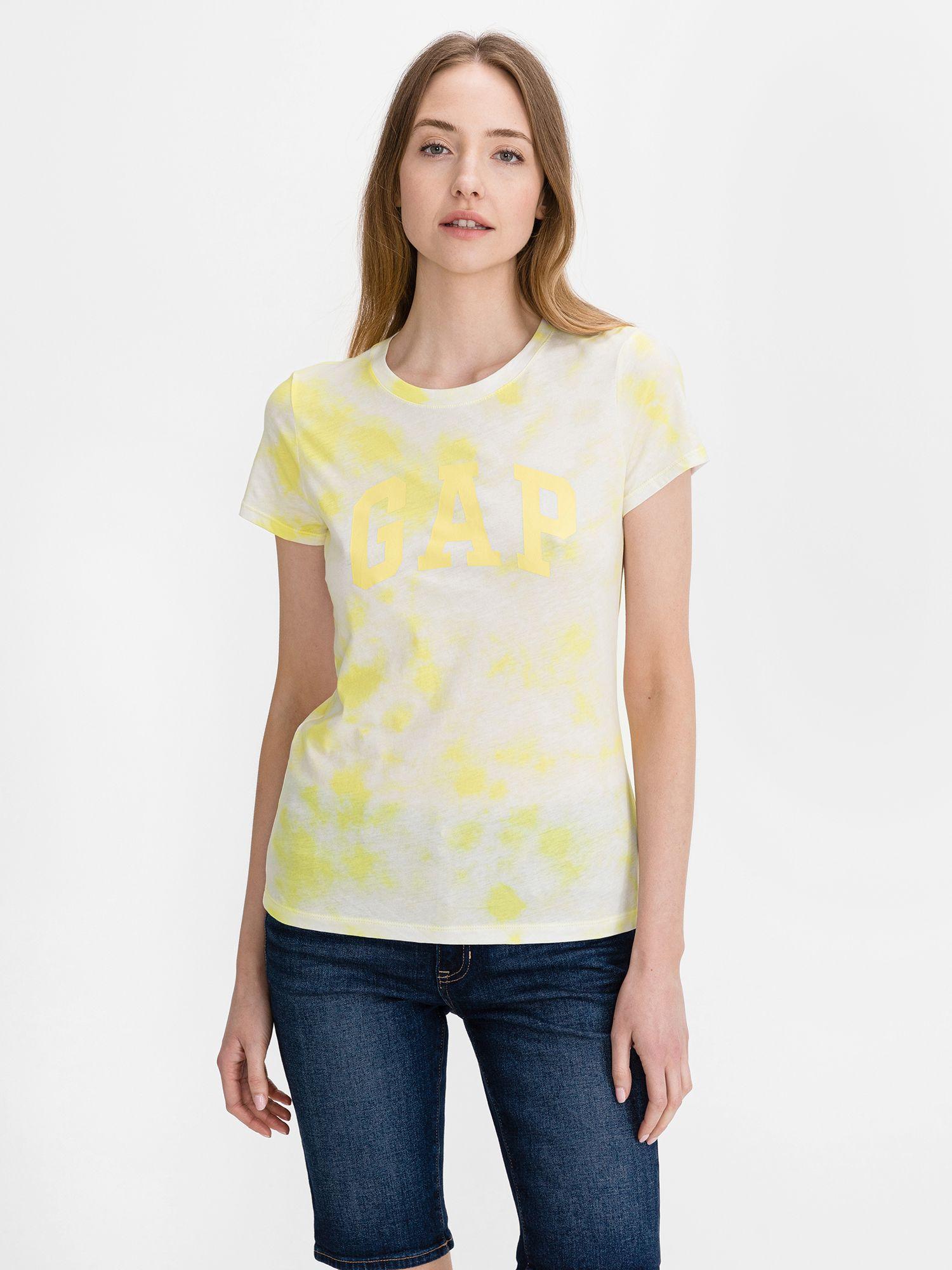 GAP žluté tričko Classic
