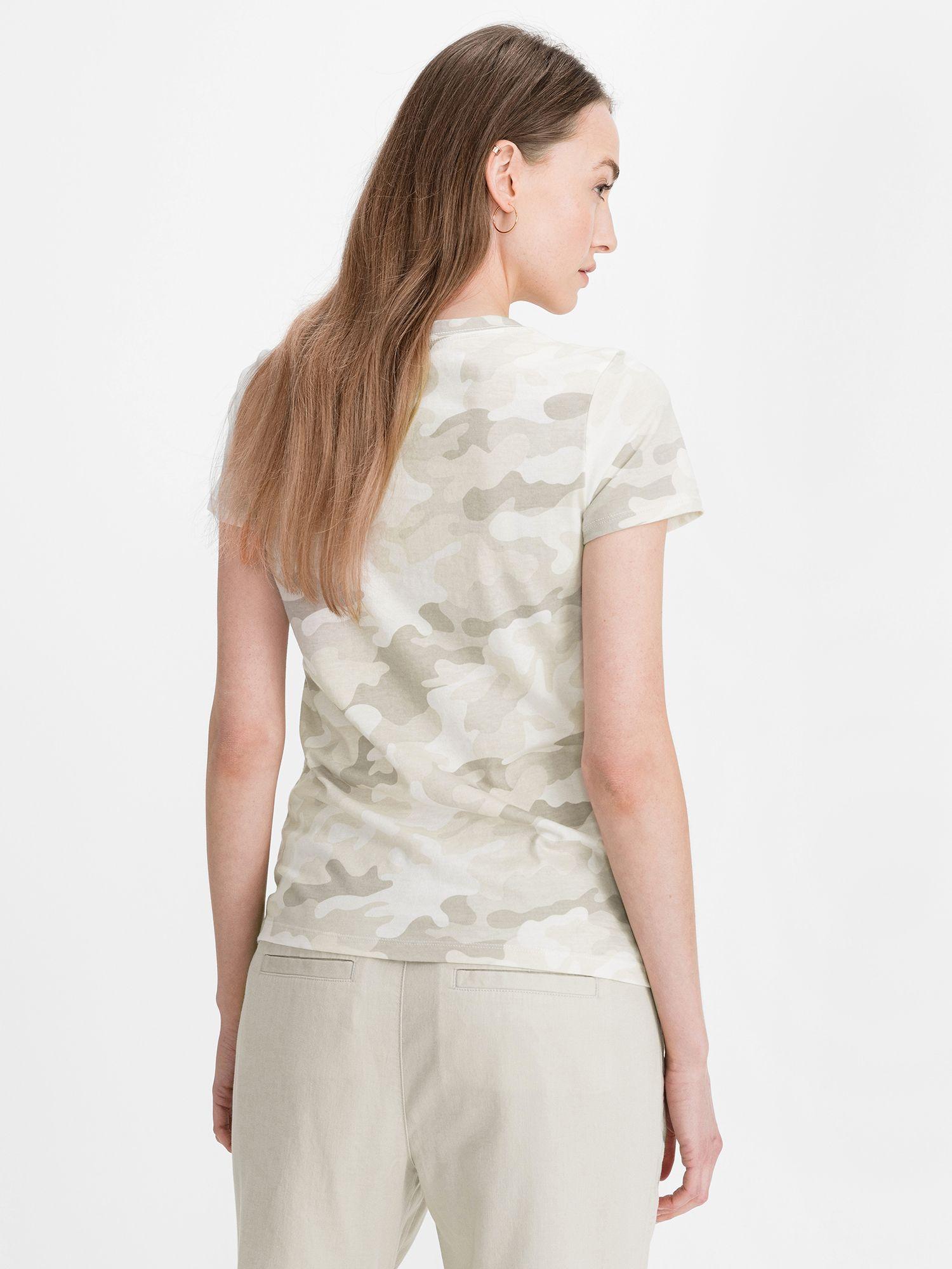 GAP krémové tričko Classic