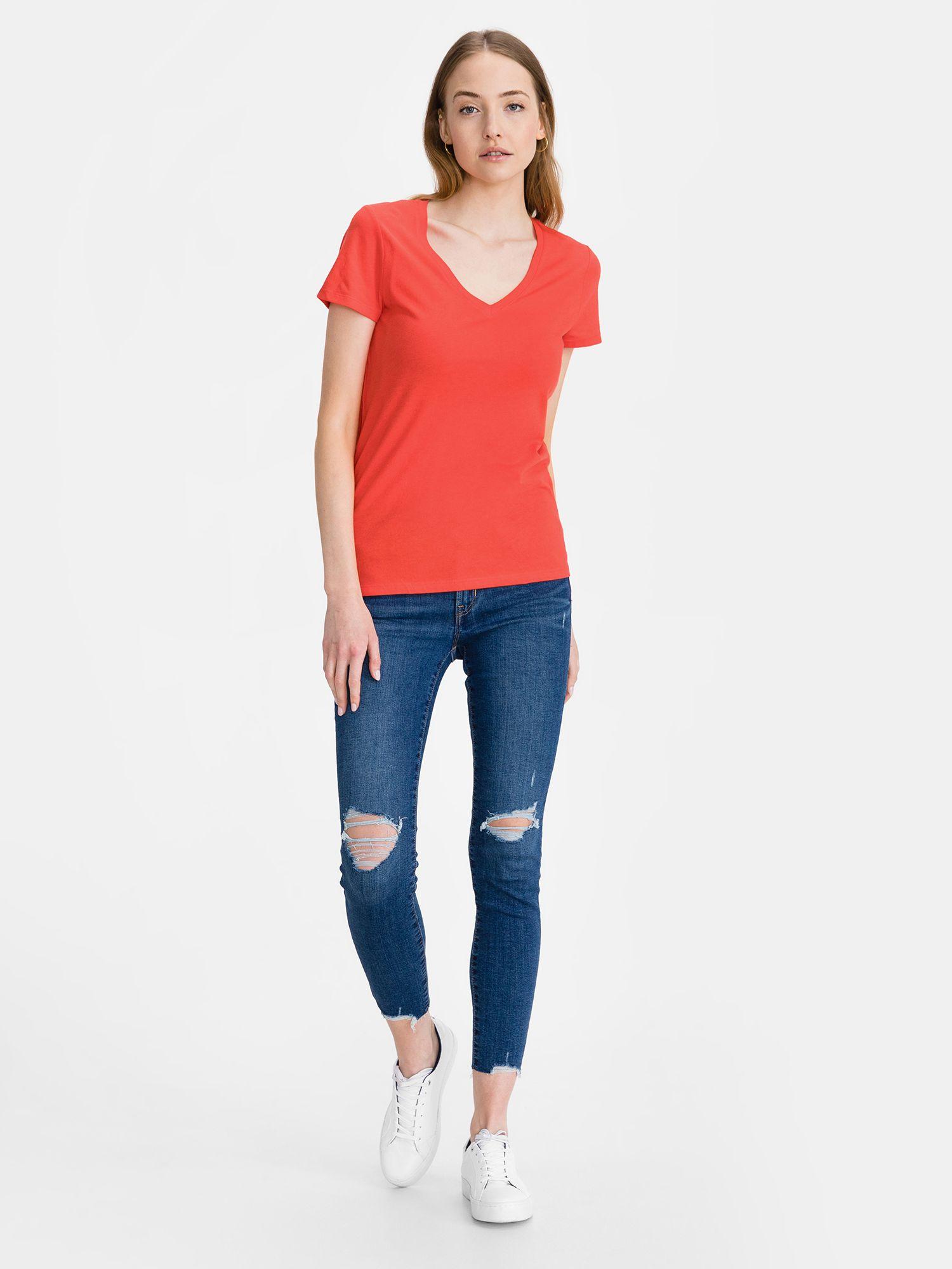 GAP červené tričko Favorite