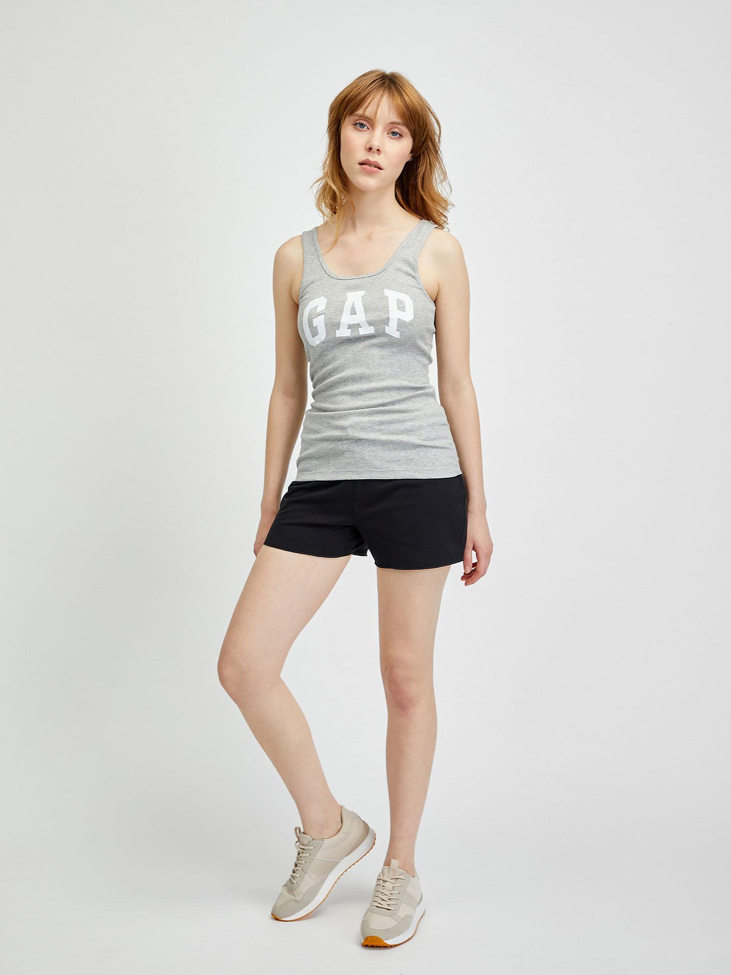 GAP béžové 2 pack tílko Logo